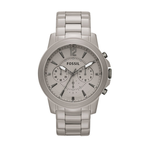 Fossil CE5017 Grant Ceramic Stone Grey Men's Watch