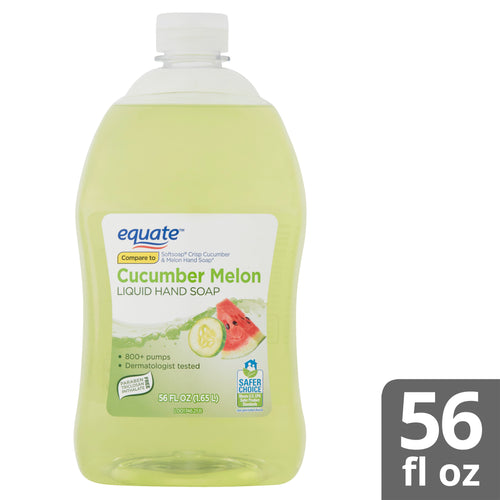 Equate Liquid Hand Soap, Cucumber Melon, 56 Oz