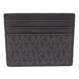Michael Kors Cooper Tall Card Case Wallet Black (36U9LCRD1B)