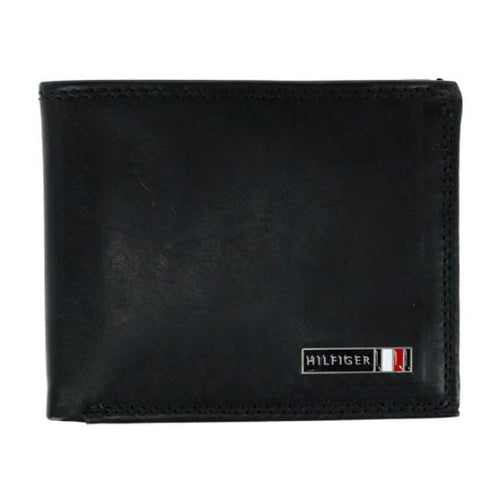 Tommy Hilfiger Edisto Leather Wallet RFID Protection (31TL240007)
