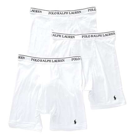 Calvin Klein Cotton Stretch 3 Pack Boxer Briefs White (NU2666-165)