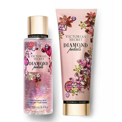 "Victoria's Secret Diamond Petals Body Mist & Body Lotion ""2-PACK"""