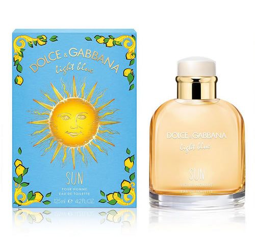 Dolce & Gabbana Light Blue Sun Pour Homme EDT 4.2 oz 125 ml