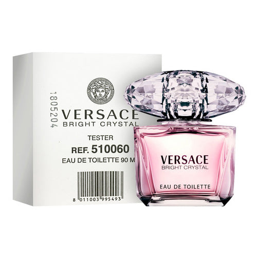 Versace Bright Crystal EDT 3.0 oz 90 ml TESTER in white box Women