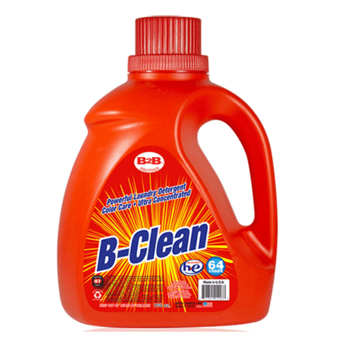 "Laundry Detergent 100 oz  B-Clean Powerful By B2B ""64 Loads"""