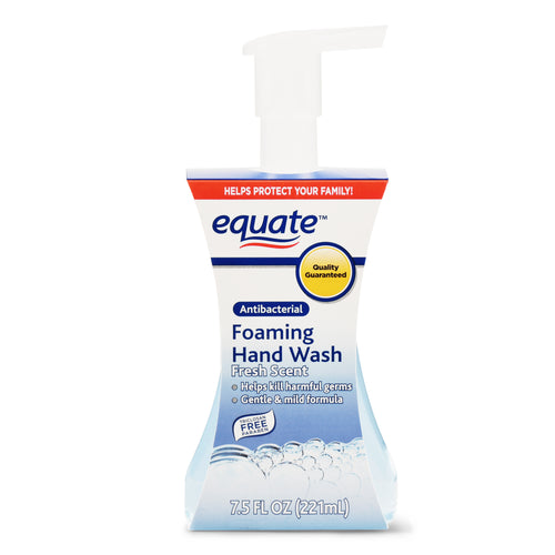 Equate 7.5 Fl. Oz. Fresh Scent Foaming Antibacterial Soap