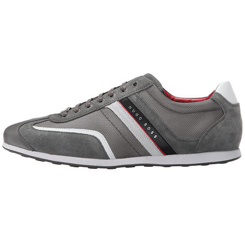 BOSS Green by Hugo Boss Men's Stiven Fashion Sneaker Nedium Grey (50247608 039)