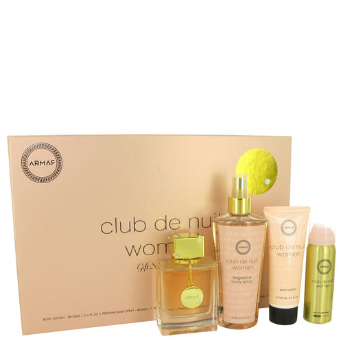 Armaf Club de Nuit 4pc Gift Set EDP 3.6 oz Women