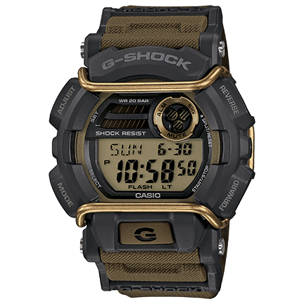 Casio G-Shock Rotary-Dial Watch Black (GA400GB-1A9)