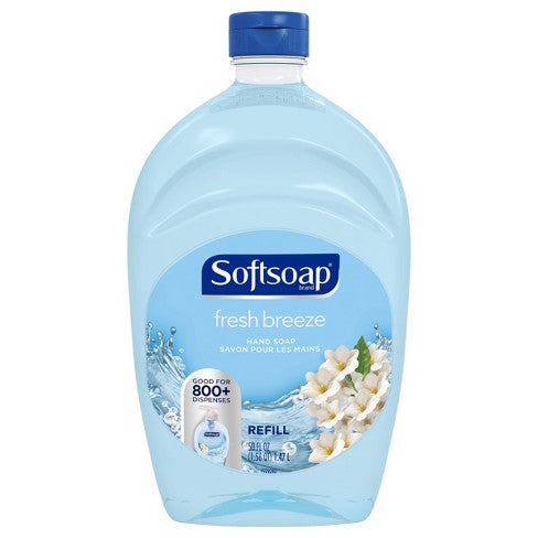 Softsoap Fresh Breeze Hand Soap REFILL 50 oz 1.47 L