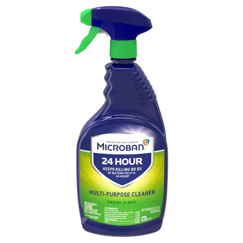 Microban 24 Hour Multi-Purpose and Disinfectant Cleaner Fresh Scent 32 fl oz
