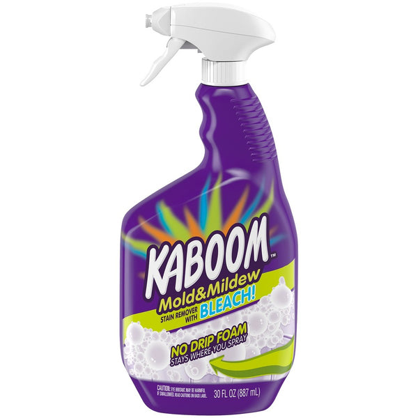 Kaboom No Drip Foam Mold and Mildew Stain Remover with Bleach 30 oz