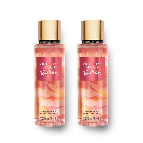 Victoria's Secret Temptation Body Mist 8.4 oz 250 ml 2-Pack