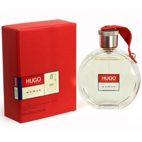 Hugo Woman 4.2 oz 125 ml Edt ( Red Box) By Hugo Boss