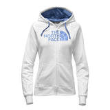 The North Face Half Dome Full-Zip Hoodie White/Coastal Fjord Blue Women