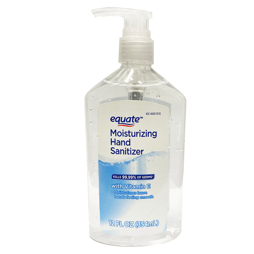 Equate Moisturizing Hand Sanitizer with Vitamin E 12 oz 354 ml
