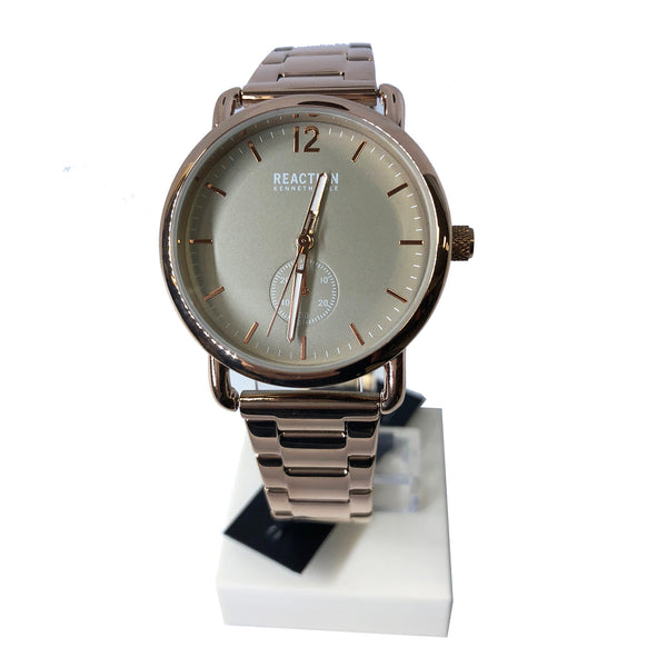 Reaction By Kenneth Cole Gold Analog Watch (RK50101005) Women