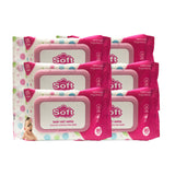Simply Soft Baby Wet Wipes Soft & Gentle Fragrance Free 80 wipes