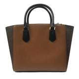 Michael Kors Carolyn Large Tote Leather Brown/Luggage (35F8GY7T3V)