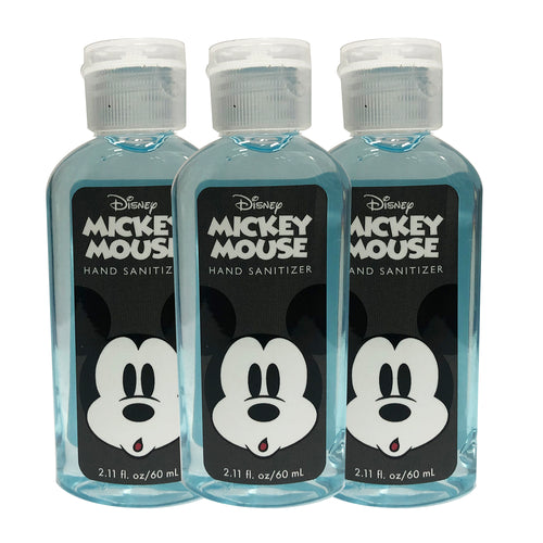"Disney Mickey Mouse Hand Sanitizer 2.11 oz ""3-PACK"" BLUE"