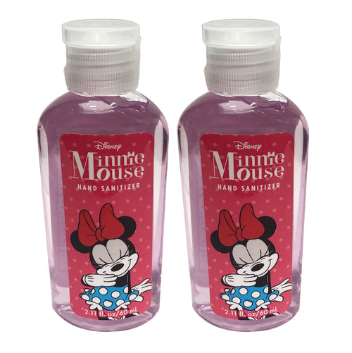 "Disney Minnie Mouse Hand Sanitizer 2.11 oz ""2-PACK"" PINK"