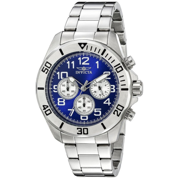 Invicta Men's Pro Diver Chronograph Stainless Steel Blue Dial (17937)