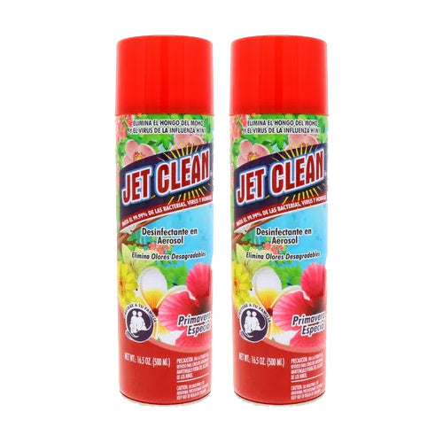 "Disinfectant Spray Special Spring Primavera by Jet Clean 16.5 oz ""2-PACK"""
