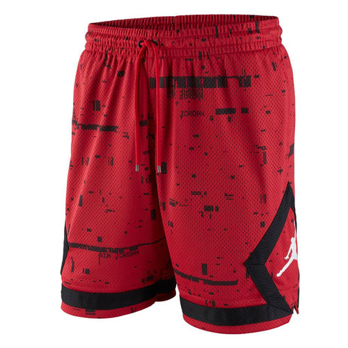 Jordan Sportswear Last Shot Diamond Mesh Men's Shorts Gym Red/Black/White (AQ0620-687)