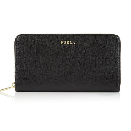 Furla PN08 Babylon Zip Around Wallet Leather Onyx (755244)