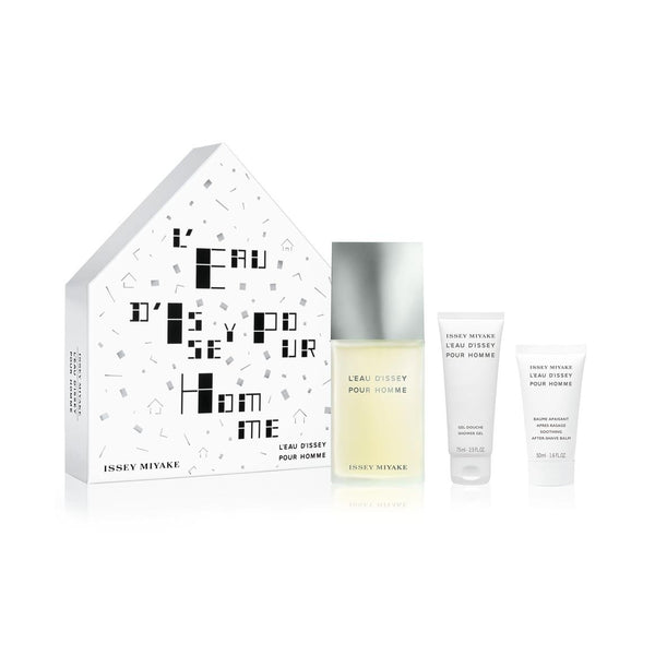 Issey Miyake L'eau D'issey Pour Homme EDT Gift Set 3pc