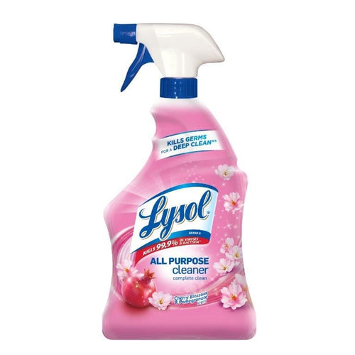 Lysol All Purpose Cleaner Spray, Cherry Blossom & Pomegranate, 19 oz