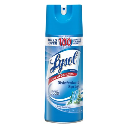 Lysol Disinfectant Spray Spring Waterfall Scent 12.5 oz