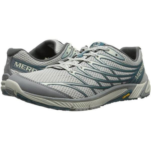 Merrell Bare Access 4 Running Shoes Lt Grey/Sea Blue (J03919)