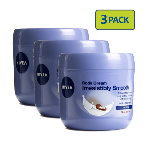 "Nivea Body Cream 400ml Women ""3-PACK"""