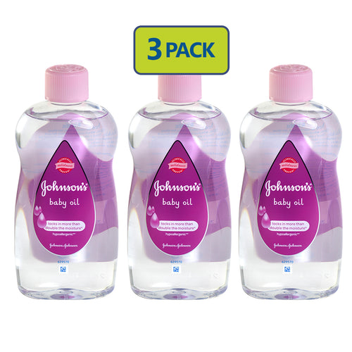 "Johnson's Baby Oil (500 ml) ""3-PACK"""