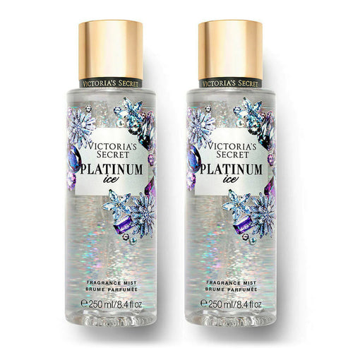 "Victoria's Secret Platinum Ice Body Mist 8.4 fl. oz/250 ml ""2-PACK"""