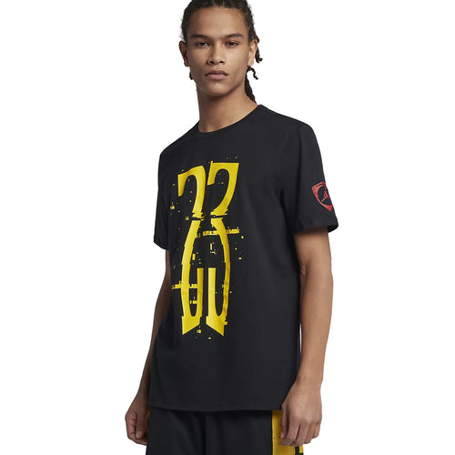 Jordan Men's T-Shirt Sportswear Last Shot Black (AO2627-010)