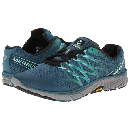 Merrell Bare Access 4 Running Shoes DragonFly/Yellow (J32477) Men