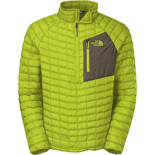 The North Face Men's Thermoball Pullover Venom Yellow LARGE