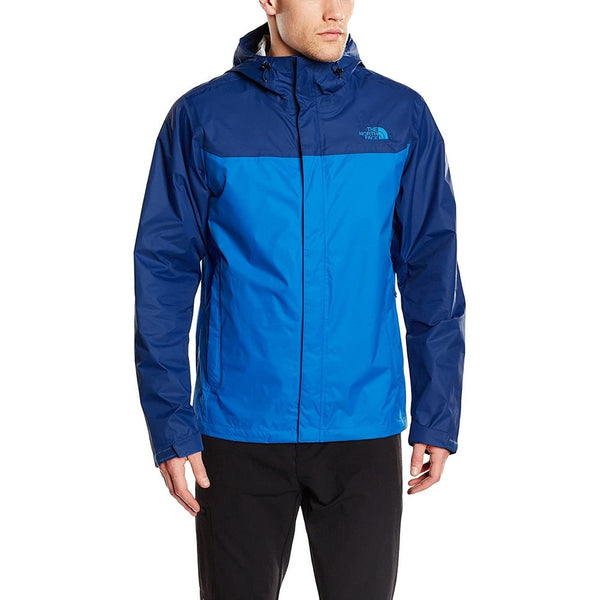 The North Face Men's Venture Jacket Bomber Blue/Limoges Blue (NF00A8AREWB)