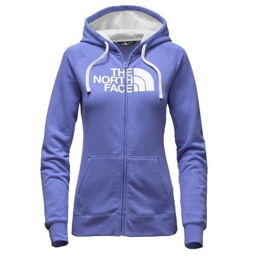 The North Face Women's Half Dome FZ Hoodie Stellar Blue/Vaporous Grey (NF00CH2ULKW)