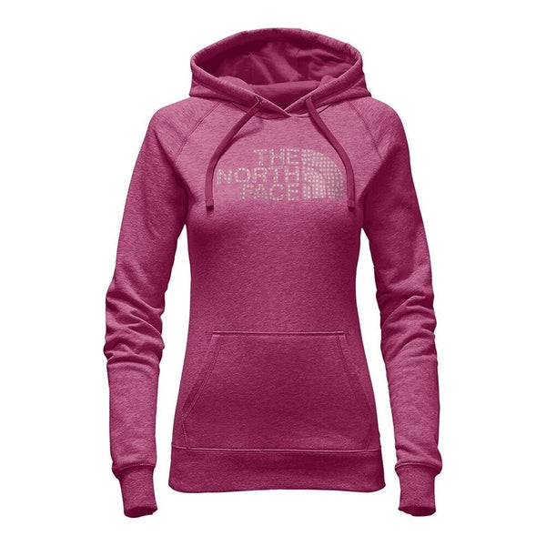 The North Face Women's Patterned Half Dome Pullover Petticoat Pink Heather