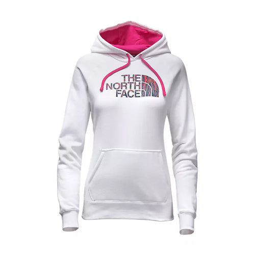 The North Face Motivation Half Dome Hoodie White/Pink Women