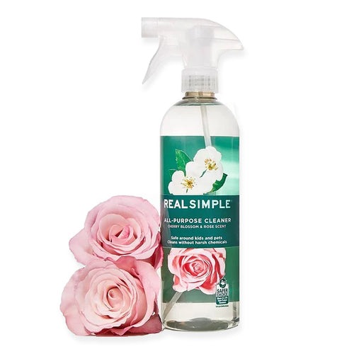 Real Simple All-Purpose Cleaner Cherry Blossom & Rose Scent Scent 24 oz