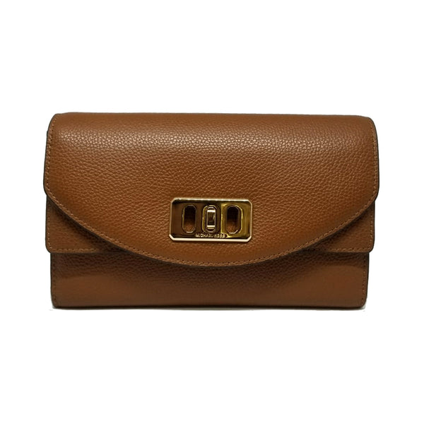 6cbcee43f53db4 Michael Kors Karson Wallet Clutch Leather (35T8GKRC7L) – Rafaelos
