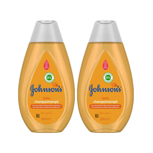 "Johnson's Baby Shampoo 500 ml ""2-PACK"""