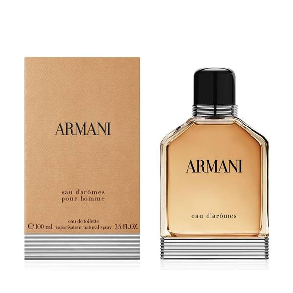 Armani Eau D'Aromes Pour Homme by Giorgio Armani, 3.4 oz Eau De Toilette Spray for Men