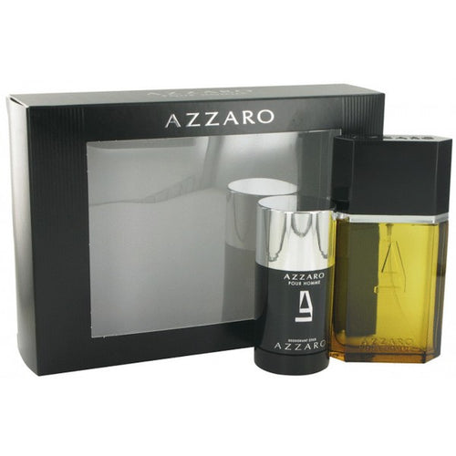 Azzaro Pour Homme 2 Piece Gift Set For Men 1.7 oz + 2.2 oz Deodorant Stick