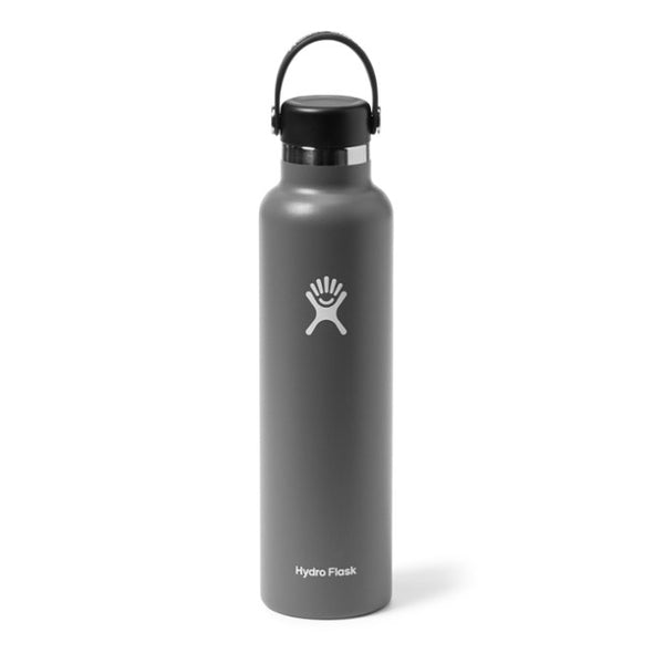 Hydro Flask Standard-Mouth Water Bottle with Flex Cap, Stone - 24 fl. oz.