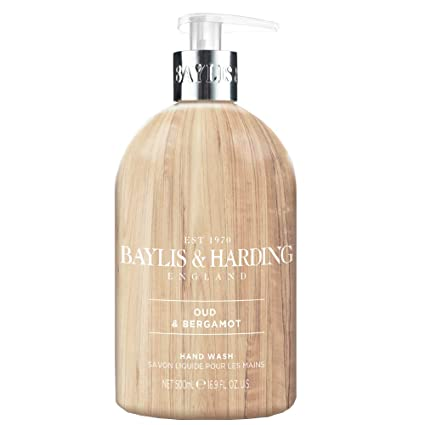 Baylis & Harding Elements Oud Wood & Bergamot, 500ml Hand Wash